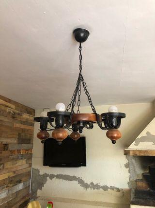 Lámparas de techo dos unidades