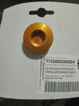 Tapón tapa del encendido KTM
