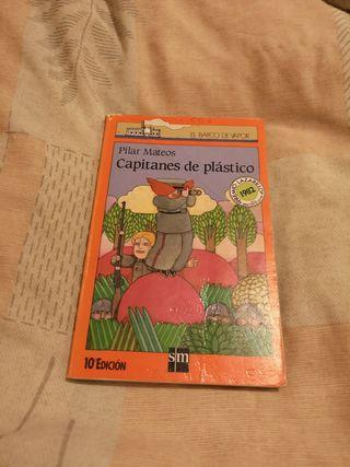 libro capitanes de plástico