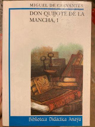 Libro Don Quijote de la Mancha I y II