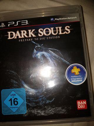 DARK SOULS PREPARE TO DIE PS3