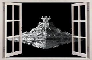 Vinilo decorativo destructor imperial STAR WARS