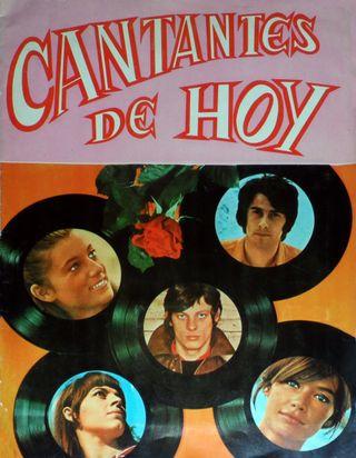 ALBUM CROMOS FACSIMIL CANTANTES DE HOY