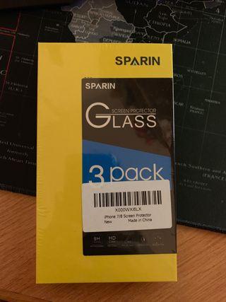 Protector pantalla iPhone 7/8