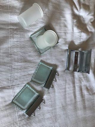 Conjunto accesorios Baño marca Roca
