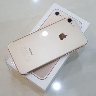 iPhone 7 Nuevo con Precintos Color Oro
