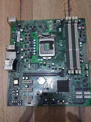 Placa base Genética socket 1155