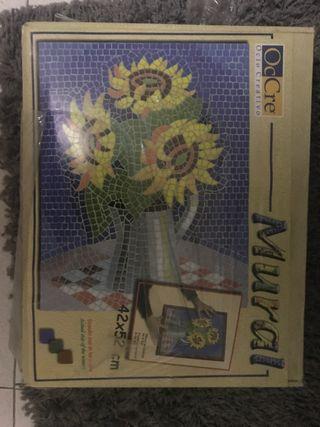 Kit mural girasoles 42x52