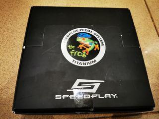 Vendo pedales Speedplay Frog Titanio