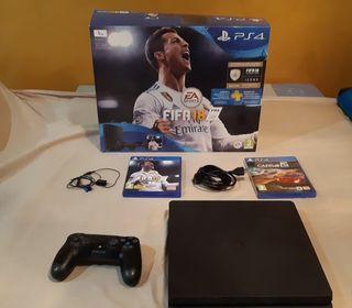 Playstation 4 1TB + Mando + juegos