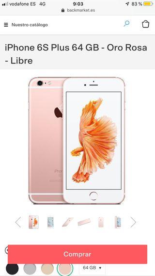 Cambio iPhone 6s Plus por huawei p30
