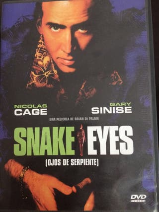 Snake Eyes (Ojos de Serpiente) - DVD