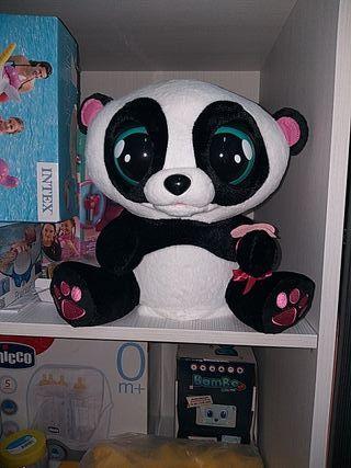 muñeco interactivo oso panda