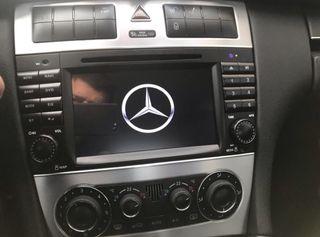 Radio gps Mercedes