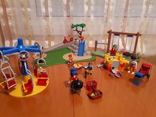 Parque infantil Playmobil. Juguetes