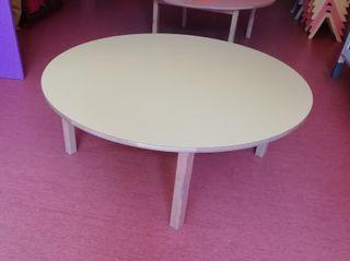 Mesa para niños de madera diámetro 120cm