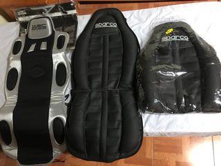 Respaldo ergonomico asiento de coche SPARCO Y WRC