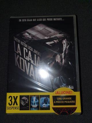 DVD - Pack 3 peliculas - Precintada