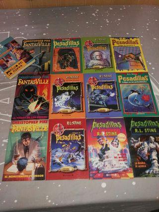 Libros de Pesadillas y FantasVille