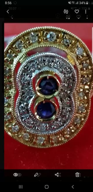 anillo tipo egipcio