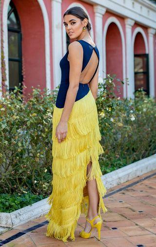 Vestido largo Silvia Navarro