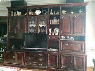 Mueble de salón estilo inglés