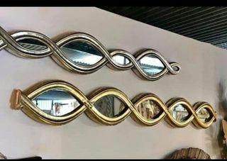 Espejo infinito metálico 122 cm