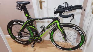 Bicicleta cabra triatlon Fuji D6