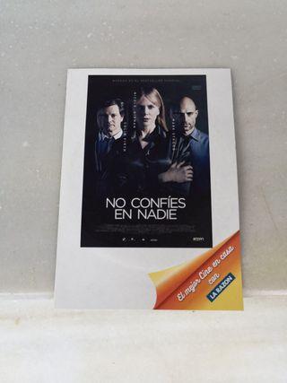 DVD NO CONFÍES EN NADIE