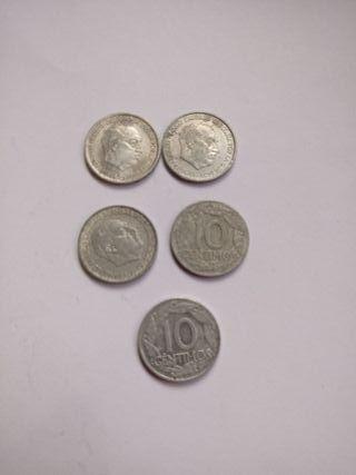 Moneda de 10 centimos de 1959