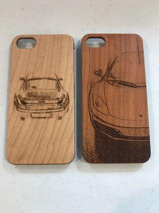 Funda madera iPhone 7