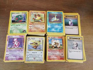 Cartas Pokemon 1a generación.