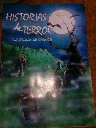 ALBUM HISTORIAS DEL TERROR