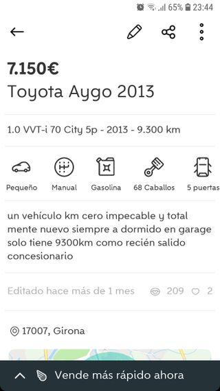 Toyota Aygo 2013