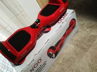 Hoverboard patín eléctrico Woo rojo