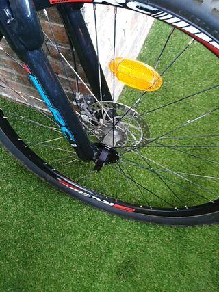 bicicleta todo camino, Racer 370 fs