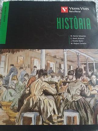 libro de História BATX