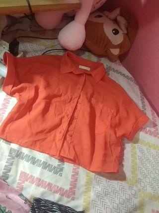 camisa de transparencias vintage talla S lefties