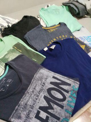 sudadera HOMBRE +7 camisetas+ sueter