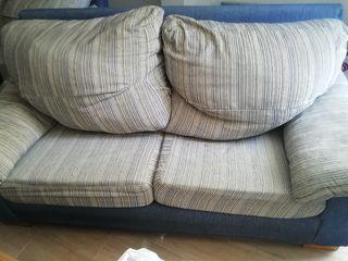 sofá 2 plazas 2 unidades