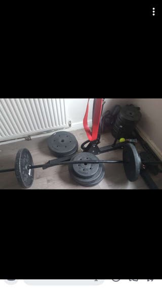 Weights with dipping belt