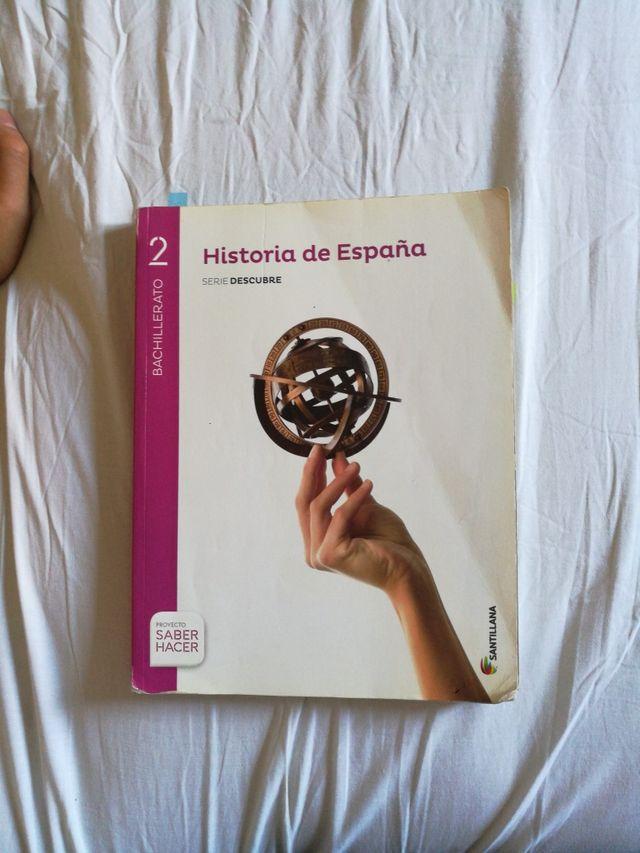 Historia se España 2Bachiller Santillana