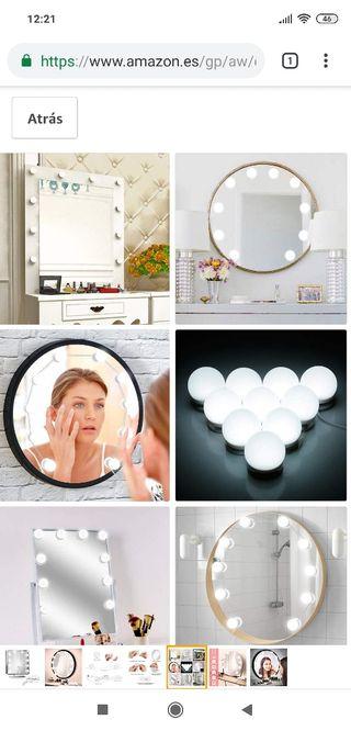 luces para espejo.