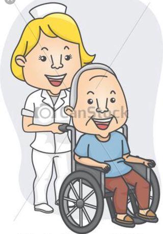 Se precisa Auxiliar de Enfermería o gerocultora.