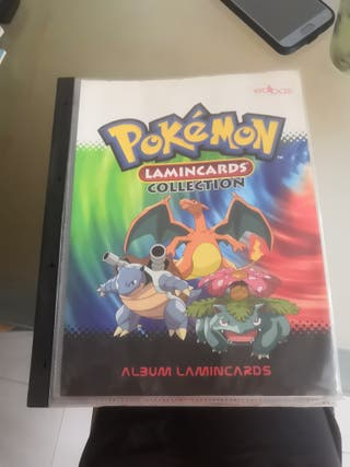 album Pókemon Lamincard