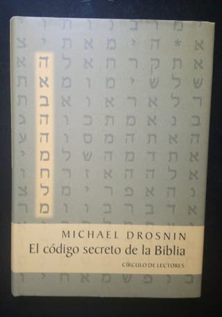 Libro. El código secreto de la Biblia