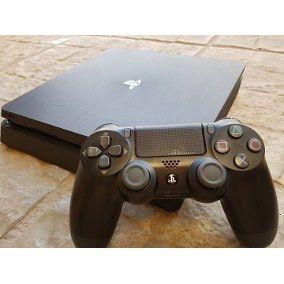 PlayStation 4 Slim 1TB + 2 mandos + 10 juegos