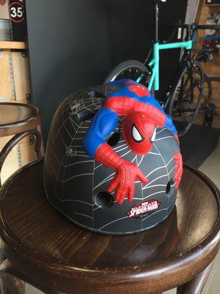 Casco bici niño niña NUEVO Spiderman