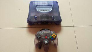 Nintendo 64 color morado