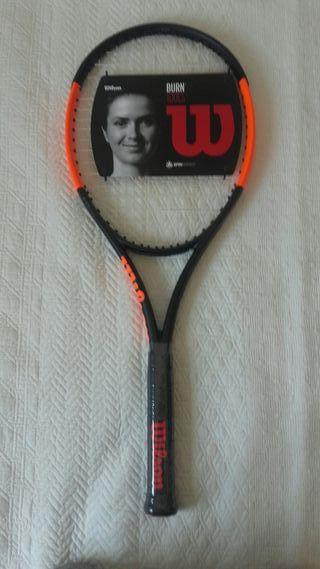 Raqueta de tenis WILSON BURN 100LS L2 NUEVA!!